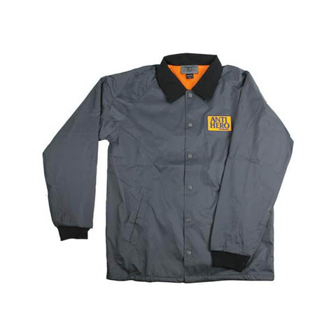 Anti Hero Jacket Reserve Patch Poly Charcoal - 50-50 Skate Shop