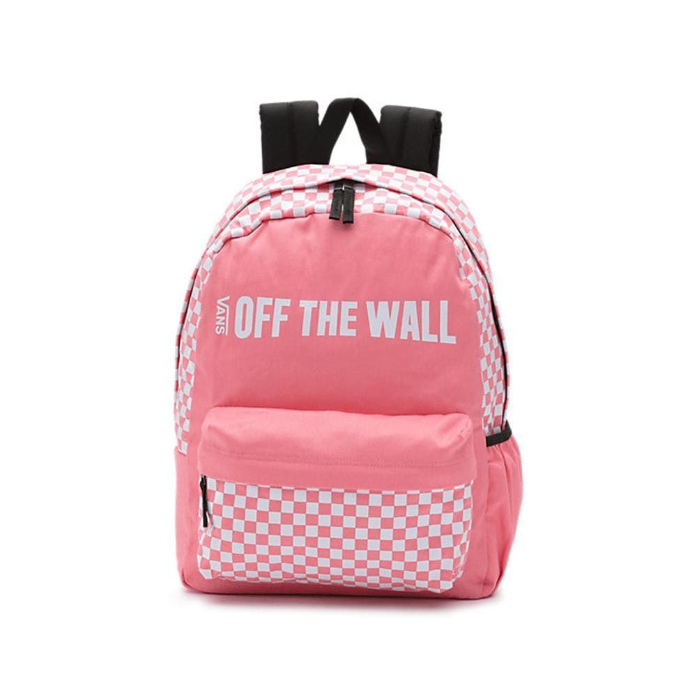 Vans Central Realm Backpack Strawberry Pink 50 50 Skate Shop