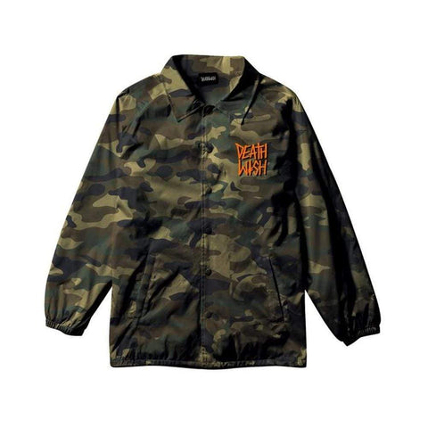 Deathwish Jacket - The Truth Camo - 50-50 Skate Shop