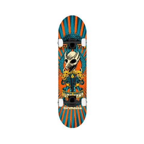 "Birdhouse Skateboard Complete Level 3 Circus 7.75"" Orange - 50-50 Skate Shop"