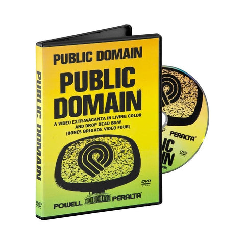 Powell Peralta DVD Public Domain-50-50 Skate Shop