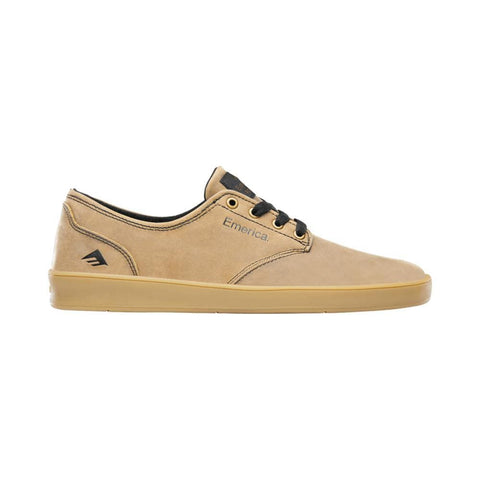 Emerica The Romero Laced Brown Black Tan-50-50 Skate Shop