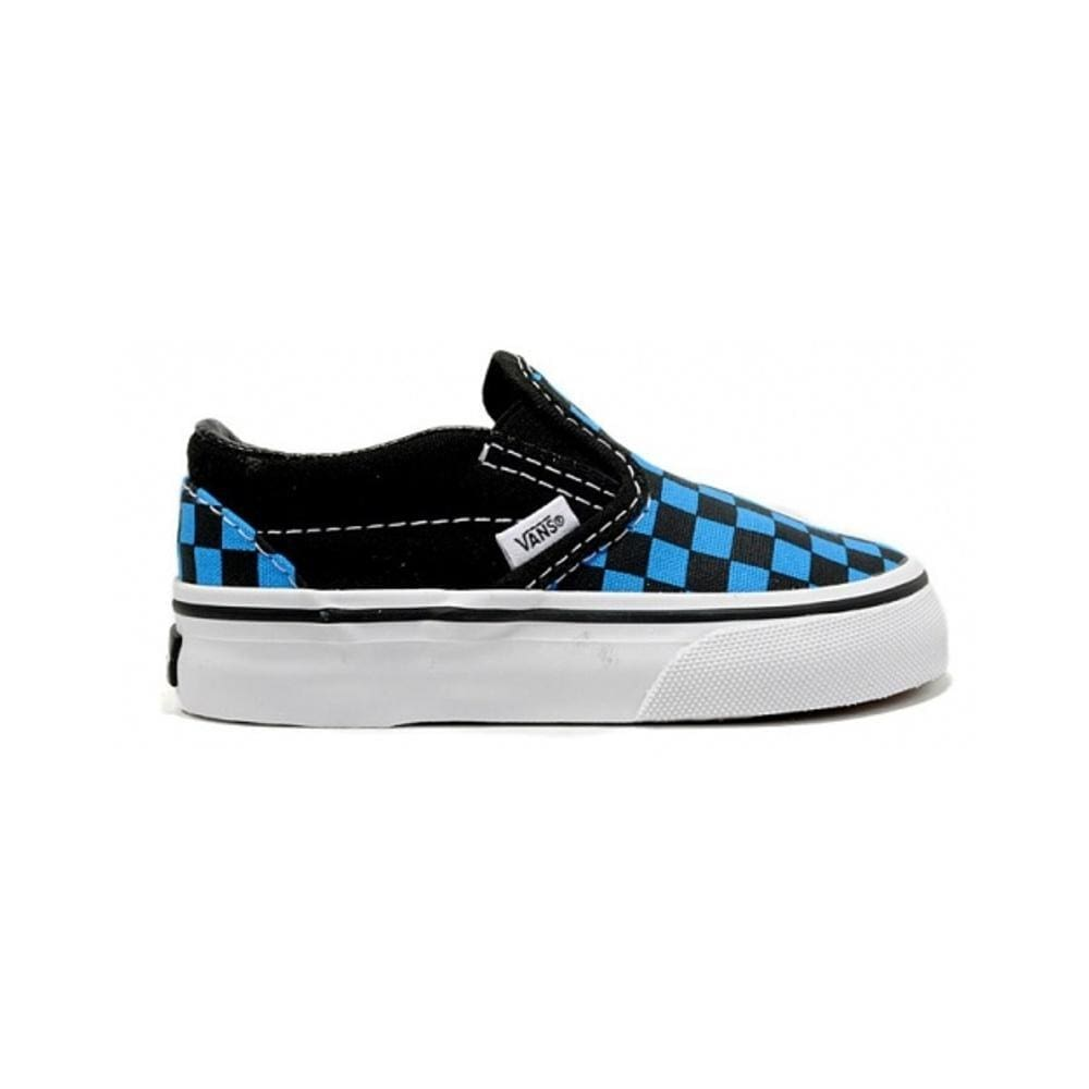 5a29ed48dc3 Vans Toddler Classic Slip On Checkerboard Jewel Black - 50-50 Skate Shop