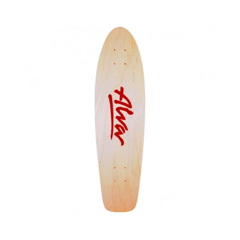 Alva Skates Re-Issue Deck 1977 OG Red 7.75 x 29.5 (gripped)