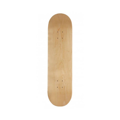(DAMAGED) ABS Skateboard Deck Blank Natural Stain-50-50 Skate Shop