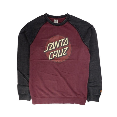 Santa Cruz Big Dot Acid Crewneck-50-50 Skate Shop