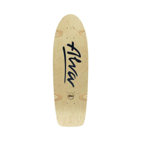 Alva Skates Reissue Skateboard Deck Bela Black 8.5 x 27 (gripped) - 50-50 Skate Shop