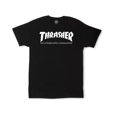 Thrasher Skate Mag Tee Black-50-50 Skate Shop