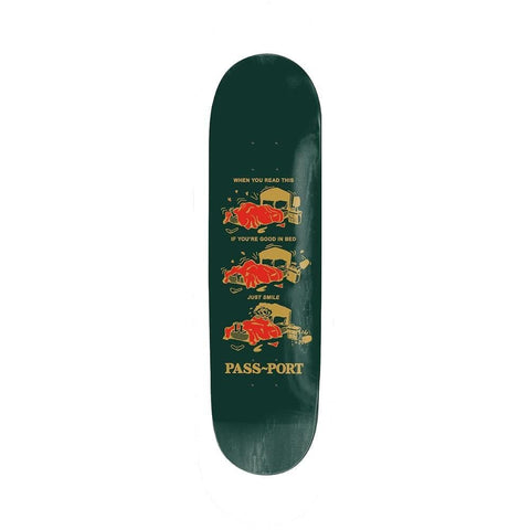 "Passport Babies Good In Bed Skateboard Deck 8.5""-50-50 Skate Shop"