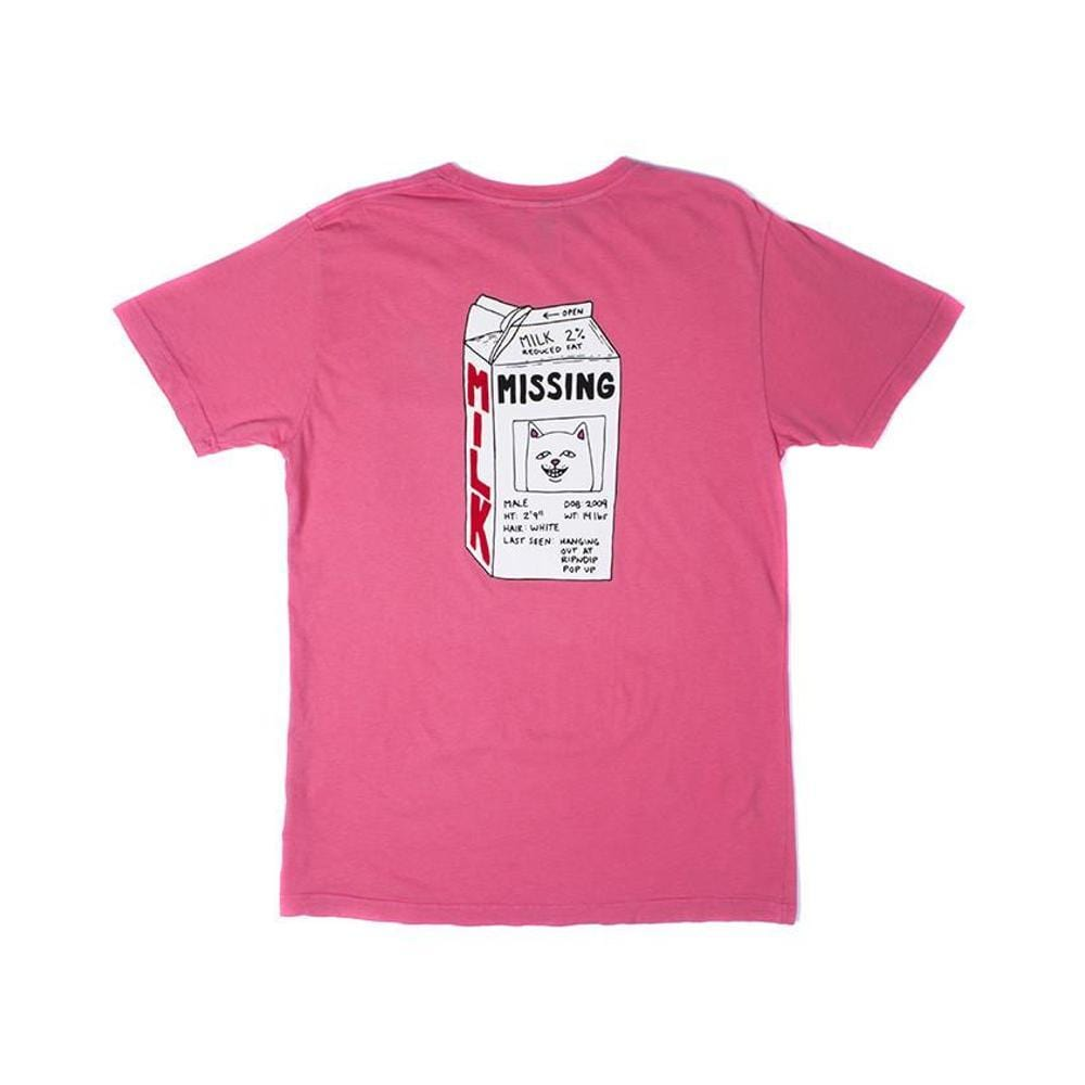 Ripndip Milk Carton Tee Blush-50-50 Skate Shop