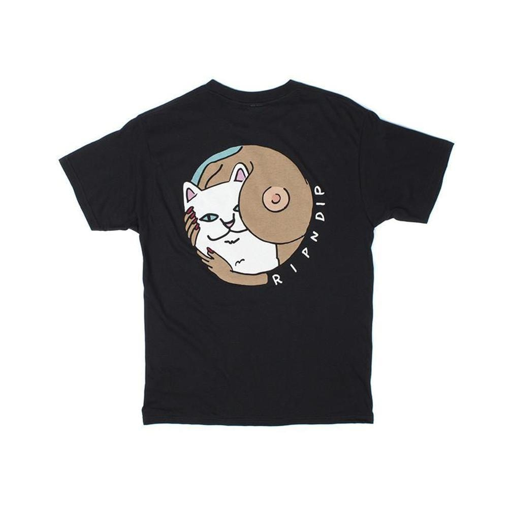 Ripndip Must Be Nice Boobies Tee Black - 50-50 Skate Shop