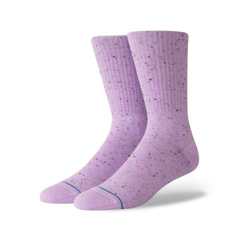 Stance Mens Icon 2 Socks Violet-50-50 Skate Shop