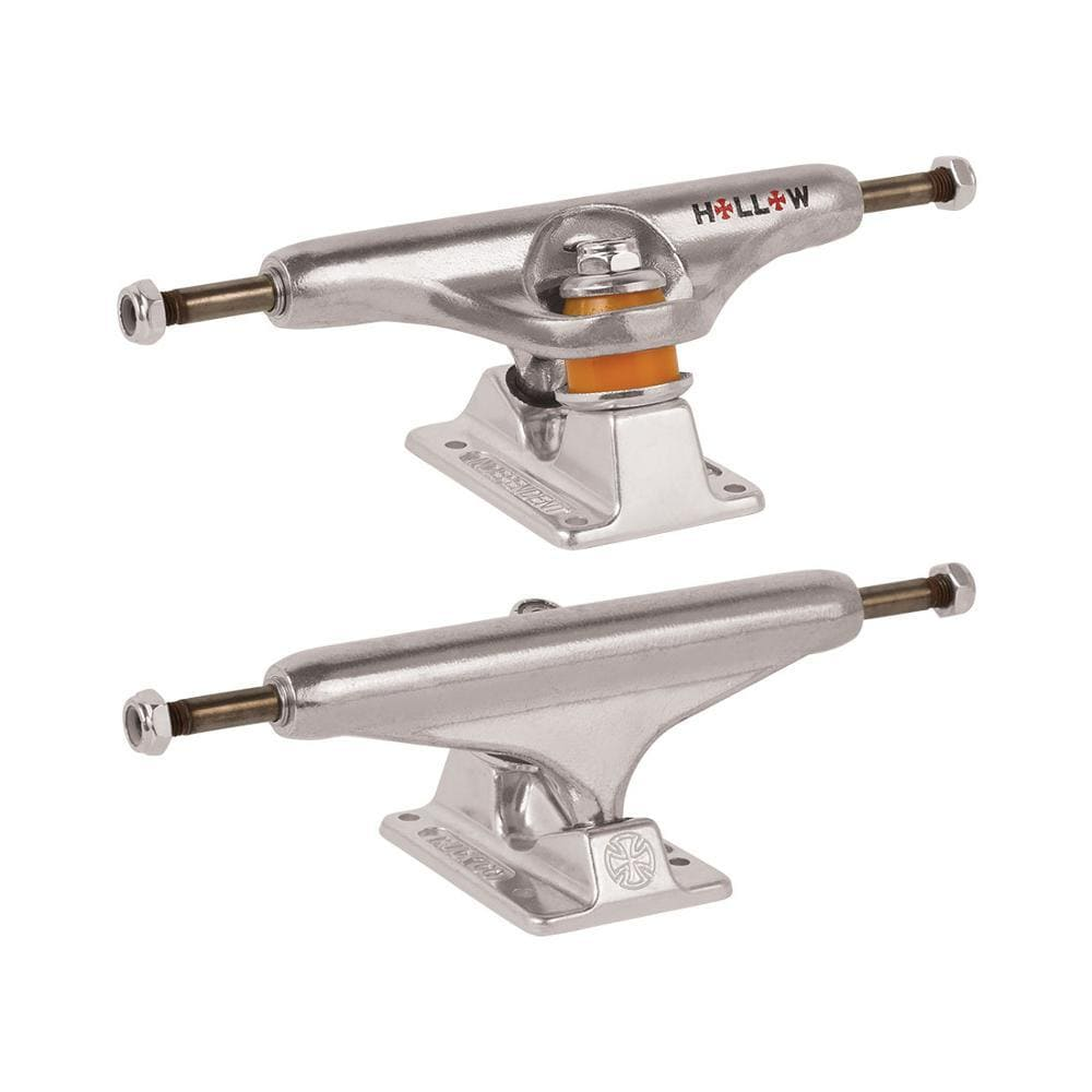 Independent Forged Hollow Silver Trucks 169mm (Pair)-50-50 Skate Shop
