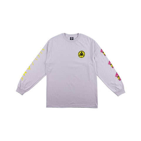 Welcome Tasmanian Long Sleeve Tee - Silver - 50-50 Skate Shop