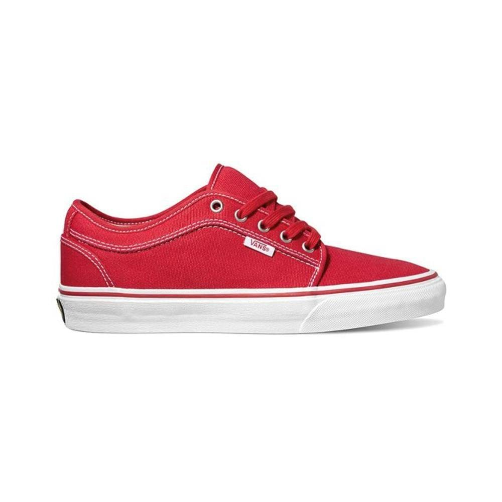 Vans Chukka Low Red Khaki White - 50-50 Skate Shop