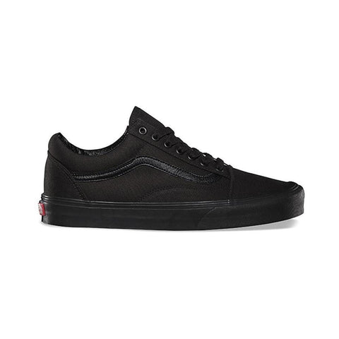 Vans Old Skool Black Black Canvas - 50-50 Skate Shop