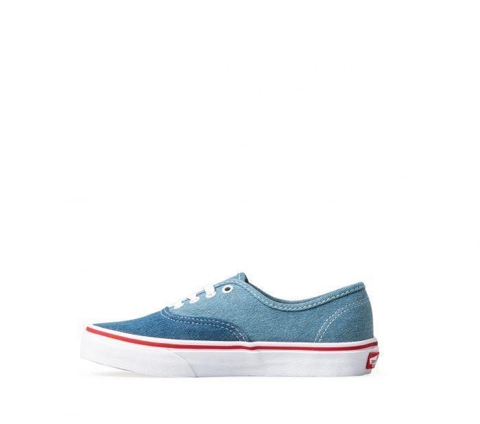 acdb7891f9 Vans Kids Authentic Denim 2 Tone Blue True White – 50-50 Skate Shop