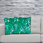 Clear 45cm x 45cm Plush Cushion Cover