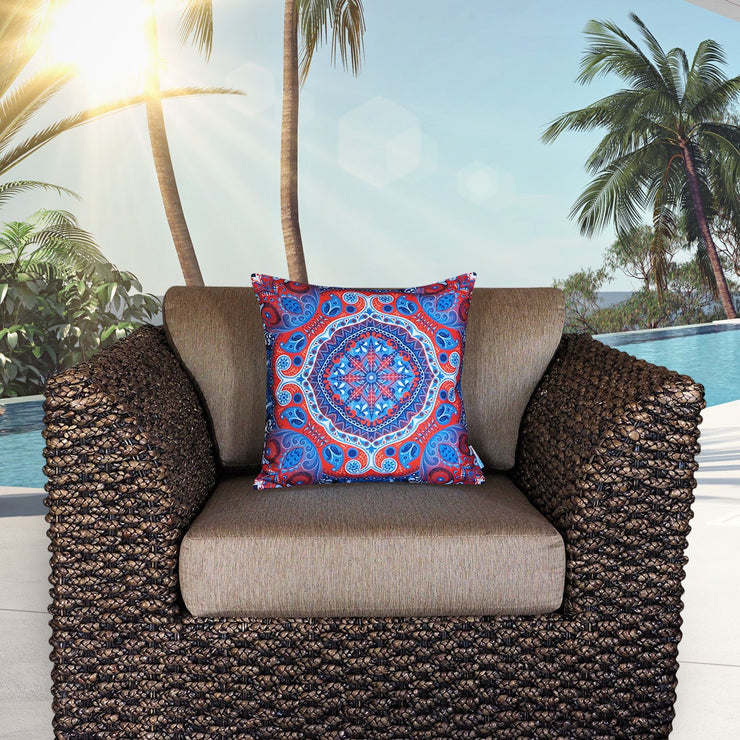 Content 45cm x 45cm Indoor/Outdoor Cushion Cover