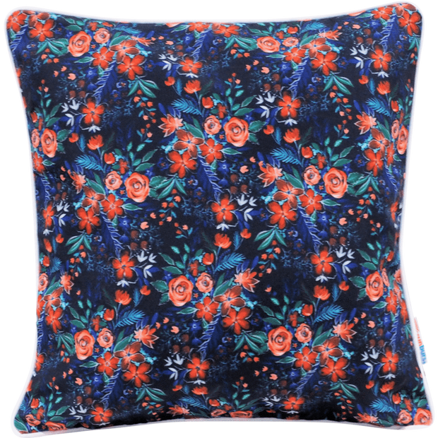 Dashing 45cm x 45cm with piping Indoor/Outdoor Cushion Cover
