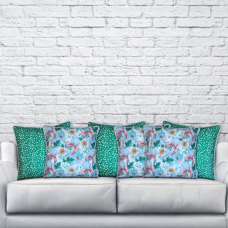 Eager 45cm x 45cm with piping Indoor/Outdoor Cushion Cover