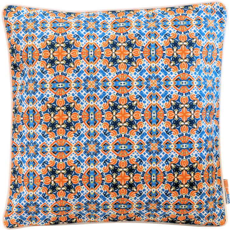 Empower 45cm x 45cm with piping Indoor/Outdoor Cushion Cover