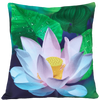 Lotus Flowers 45cm x 45cm Indoor/Outdoor Cushion Cover
