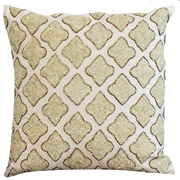 Beaded Cushion Cover - Jewel