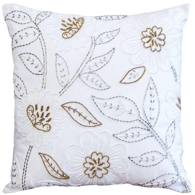 Beaded Cushion Cover - Luxury