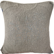 Vintage Wash Cotton Indoor Cushion Cover - Coffee
