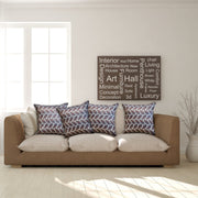 Simple 45cm x 45cm Indoor/Outdoor Cushion Cover