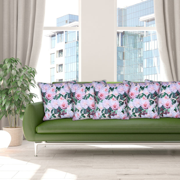 Winter Range Indoor Cushion Covers - Roses