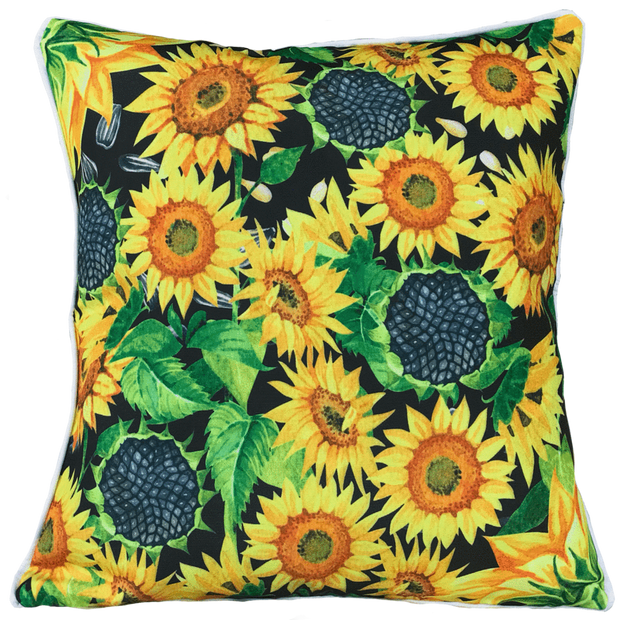Activate 50cm x 50cm with piping Indoor/Outdoor Cushion Cover