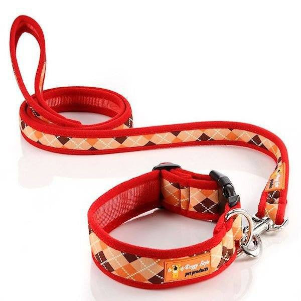 Doggy Style Dog Collars - Archie Design (matching lead available)