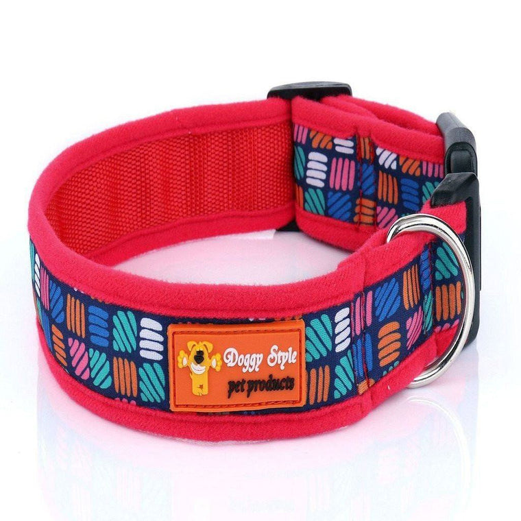 Doggy Style Dog Collars - Bailey Design (matching lead available)