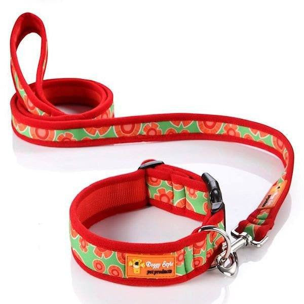 Doggy Style Dog Collars - Bluey Design Dog Lead