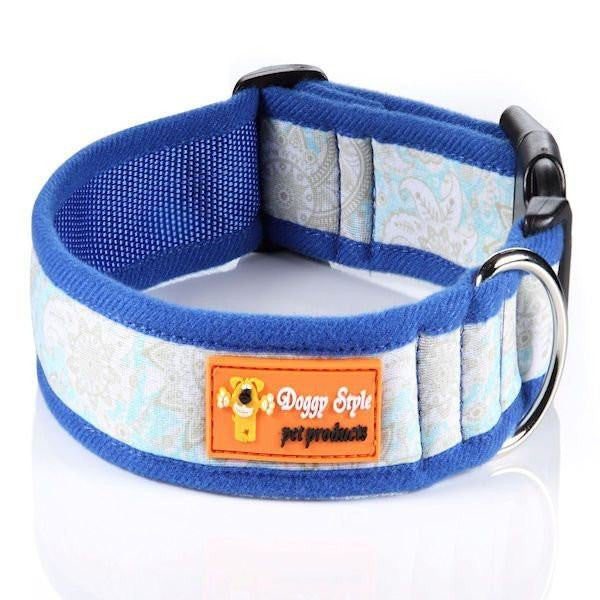 Doggy Style Dog Collars - Crystal Design (matching lead available)