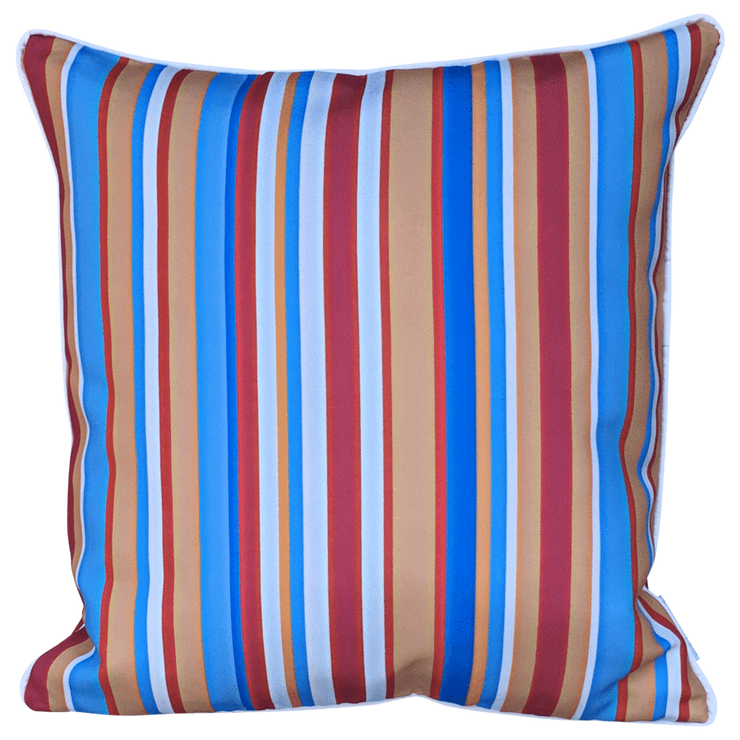 Neat 50cm x 50cm with piping Indoor/Outdoor Cushion Cover
