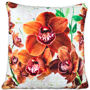 Delicate Range - Chocolate - 50cm x 50cm Indoor Cushion Cover