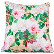 Delicate Range - Pink Roses - 50cm x 50cm Indoor Cushion Cover