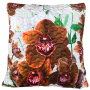 Winter Range Indoor Cushion Covers - Chocolate