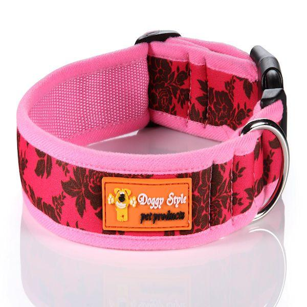 Doggy Style Dog Collars - Princess Design (matching lead available)