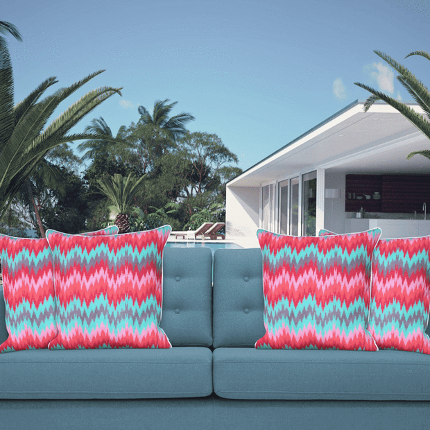 Synergy 50cm x 50cm with piping Indoor/Outdoor Cushion Cover