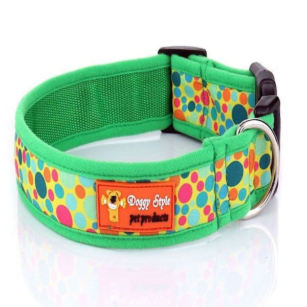 Doggy Style Dog Collars - Toby Design (matching lead available)