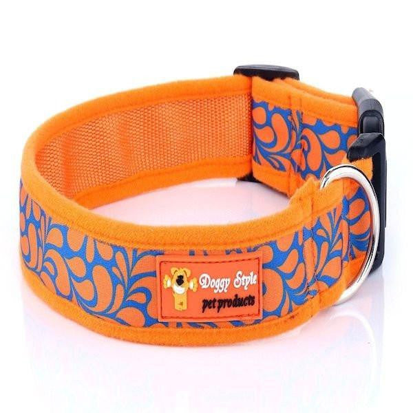 Doggy Style Dog Collars - Zoe Design (matching lead available)