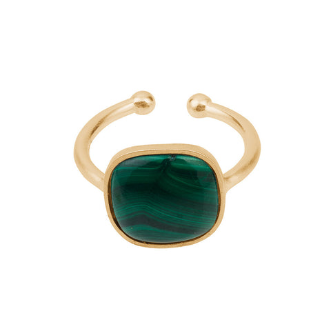 R-035 | Malachite Ring