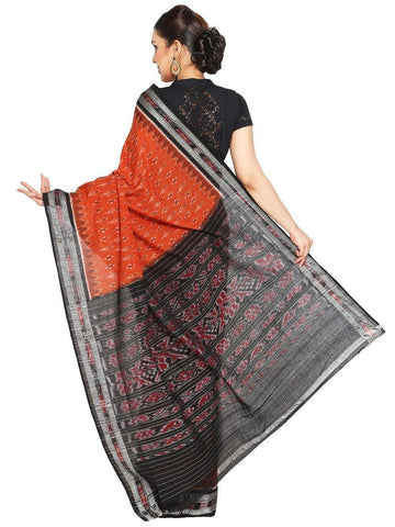 CraftsCollection.in - Odisha Handloom Sambalpuri Ikat Bandha Cotton Saree