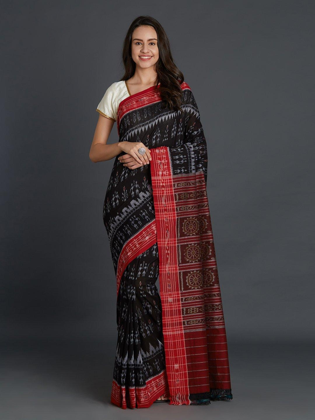Sambalpuri double ikat Cotton Saree