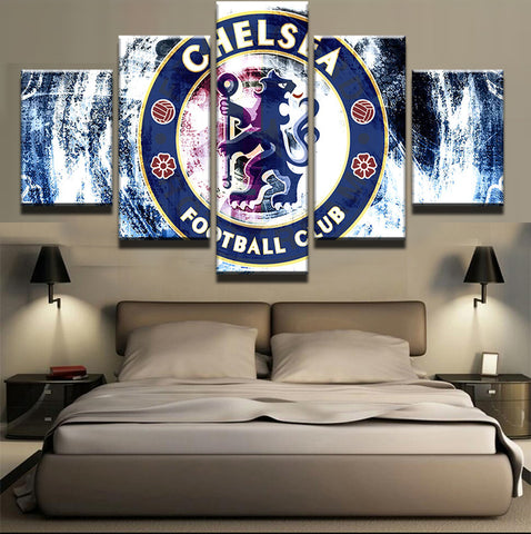 5 Pieces Brand New Boys Room Deco Painting On Canvas Modern