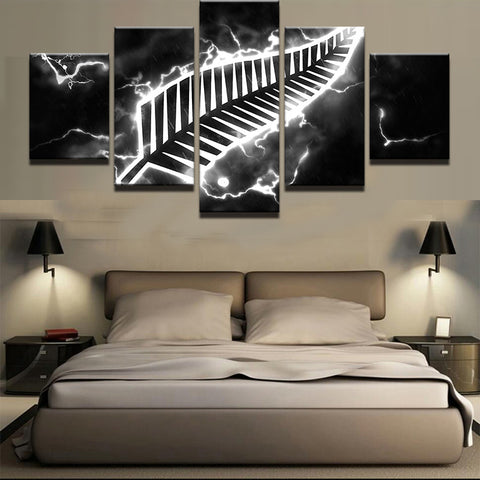 Pictures HD Printed Canvas 5 Piece Painting On Oil Paintings NZ